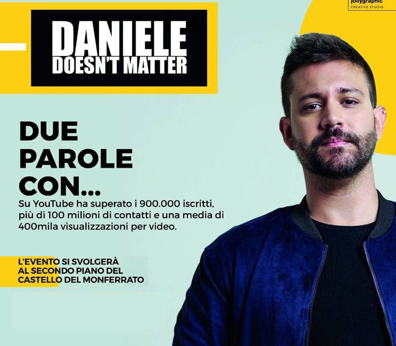 DANIELE DOESN'T MATTER chiude Job Academy 2017/2018